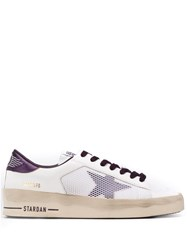 Golden Goose Star Lace Up Sneakers White