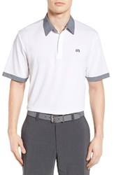 Travis Mathew Men's Hills Pique Polo