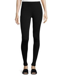 Vince Stretch Slim Ankle Leggings Black