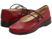 Arcopedico Rose Cherry Shoes Red