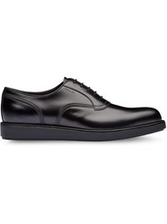 Prada Oxford Shoes Black