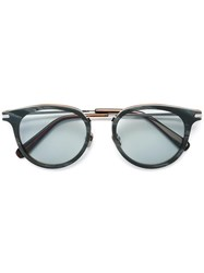 Brioni Round Framed Sunglasses Grey