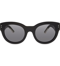 Burberry Runway Phantos Cateye Sunglasses Black