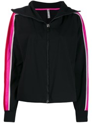 No Ka' Oi Colour Block Sports Jacket Black