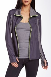 Asics Thermo Windblocker Jacket Gray