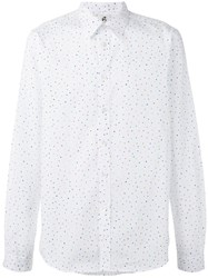 Paul Smith Ps By Polka Dot Print Shirt White
