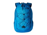 The North Face Jester Blue Aster Emboss Banff Blue Backpack Bags
