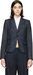 Dsquared Blue Denim Blazer