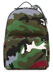Valentino Garavani Camouflage Backpack Multicolour