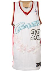 Night Market Cavaliers Embroidered Nba Tank Women Polyester One Size White
