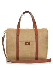 Mismo M S Beach Canvas Tote Light Brown