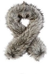Imposter Faux Fur Scarf Grey