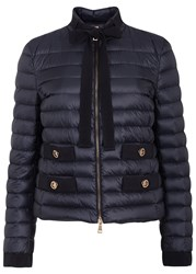 Moncler Pavottine Quilted Shell Jacket Navy