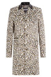 Just Cavalli Leopard Print Coat Gr. It 42