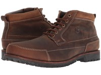 Old West Boots Zions Brown Distressed Work