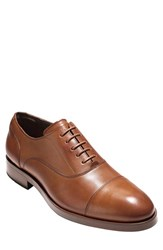 Cole Haan Men's 'Hamilton Grand' Cap Toe Oxford British Tan Leather