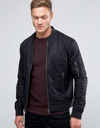 Jack And Jones Premium Bomber Jacket Black