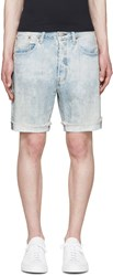 Levi's Blue Faded 501 Ct Shorts
