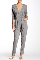 American Apparel Madeline Jumpsuit Gray