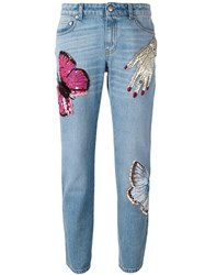 Alexander Mcqueen 'Big Obsession' Jeans Blue