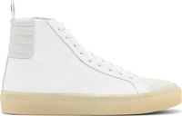 Damir Doma White Leather Felis High Top Sneakers