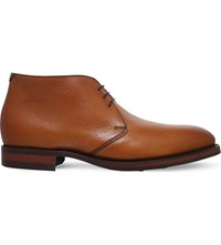 Barker Orkney Leather Chukka Boots Tan