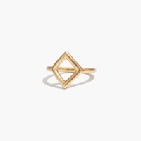 Madewell Diamond Shape Ring