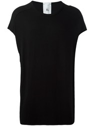 Lost And Found Rooms Cropped Sleeve Tunic Black
