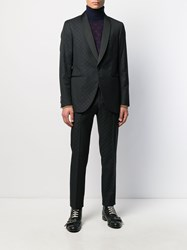 Etro Formal Patterned Two Piece Suit Black