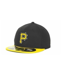 New Era Pittsburgh Pirates Diamond Era 59Fifty Hat Black A Gold