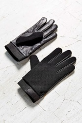 Urban Outfitters Leather Stretch Driving Glove Black