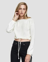 Which We Want Giorgia Crop Top Ivory