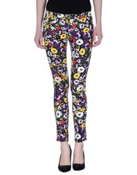 Miss Sixty Casual Pants Purple