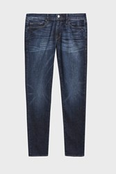 Frame Denim Men S L Homme Washed Skinny Boutique1 Blue