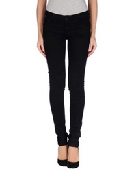 Mother Casual Pants Black