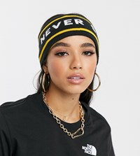 The North Face Chizzler Headband In Yellow Black