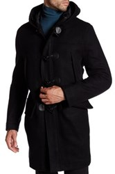 Andrew Marc New York Weston Hooded Coat Black