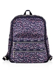 Le Sport Sac Functional Nylon Backpack Fairy Floral