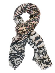 Chesca Aztec Printed Scarf Multi Coloured