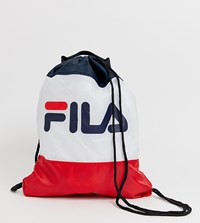 Fila Scoopy Classic Logo Drawstring Backpack Multi
