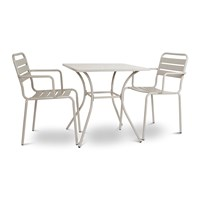 Garden Trading Dean Street Set Of 2 Chairs And Table Clay
