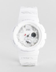 Casio Baby G By X Hello Kitty Silicone Digital Watch In White