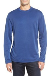 Tommy Bahama Double Diamond Crewneck T Shirt Blue