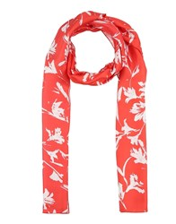 Blumarine Oblong Scarves Red