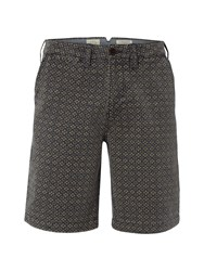 White Stuff Men's Charlie Chino Print Short Navy