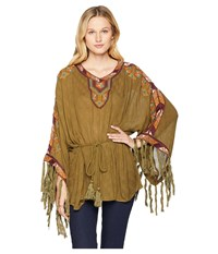 Double D Ranchwear Macedonia Top Overland Olive Clothing