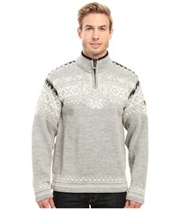 Dale Of Norway 125Th Anniversary Light Charcoal Men's Sweater Gray