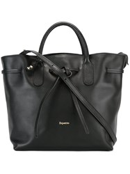 Repetto Trapeze Tote Black