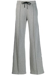 Moncler Side Stripe Track Trousers Grey
