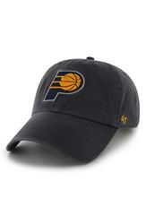 '47 Women's Clean Up Indiana Pacers Baseball Cap Blue Navy